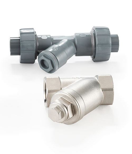 Metal and PVC Griffco Y-Strainers